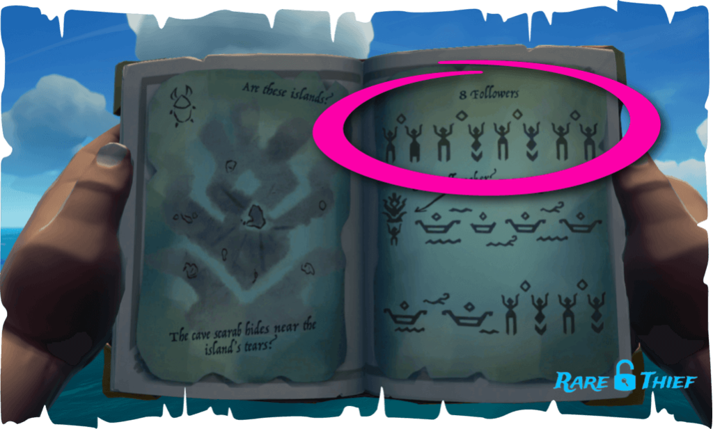 Sea of Thieves Shroudbreaker Vault Puzzle Example 1