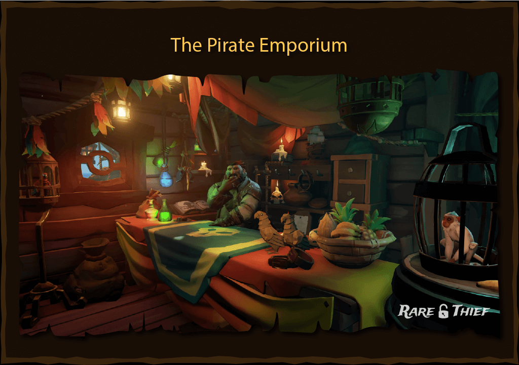 Rare Thief Article: The Pirate Emporium