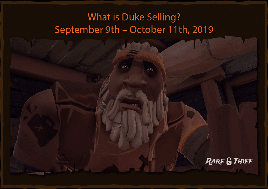 Rare Thief Article: What is Duke Selling?
