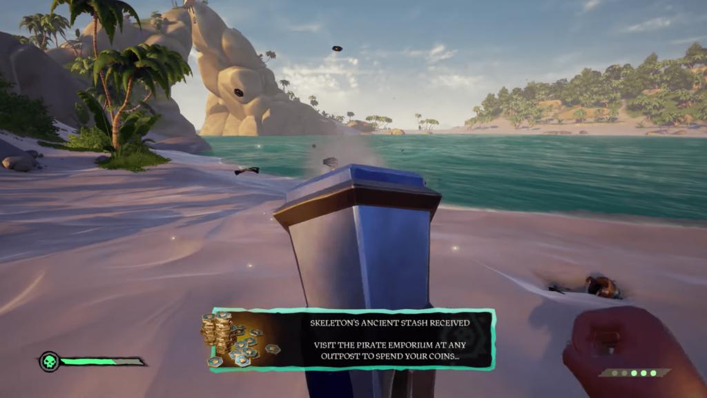 Ancient Skeleton Reward