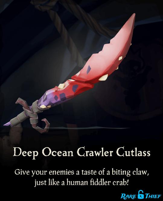 Deep Ocean Crawler Cutlass