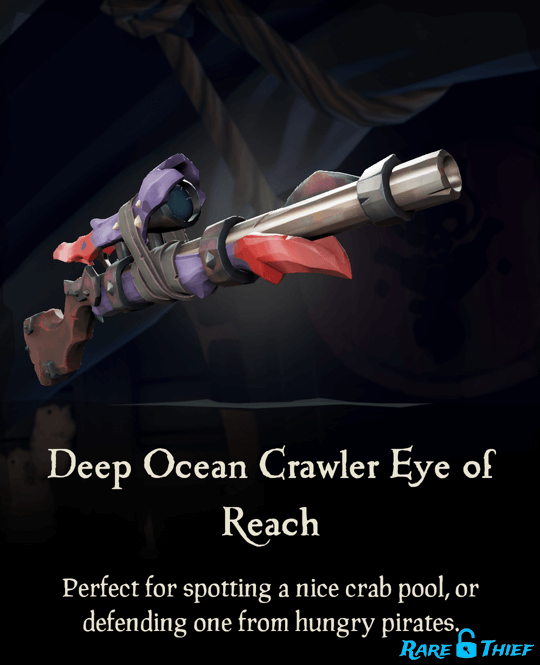 Deep Ocean Crawler Eye of Reach
