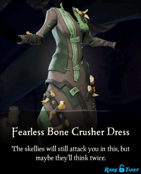 Fearless Bone Crusher Dress