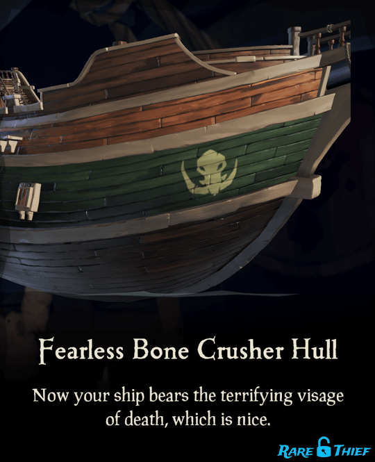 Fearless Bone Crusher Hull