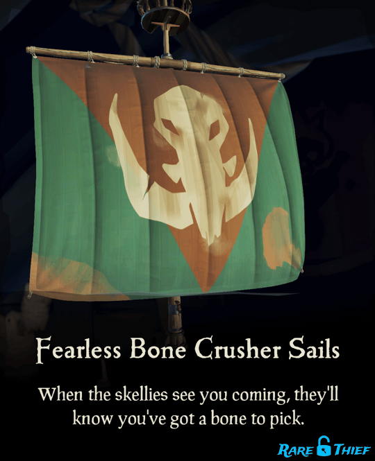Fearless Bone Crusher Sails