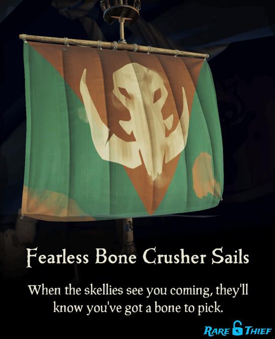 Fearless Bone Crusher Sails
