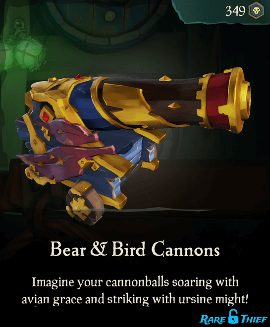 Bear & Bird Cannons
