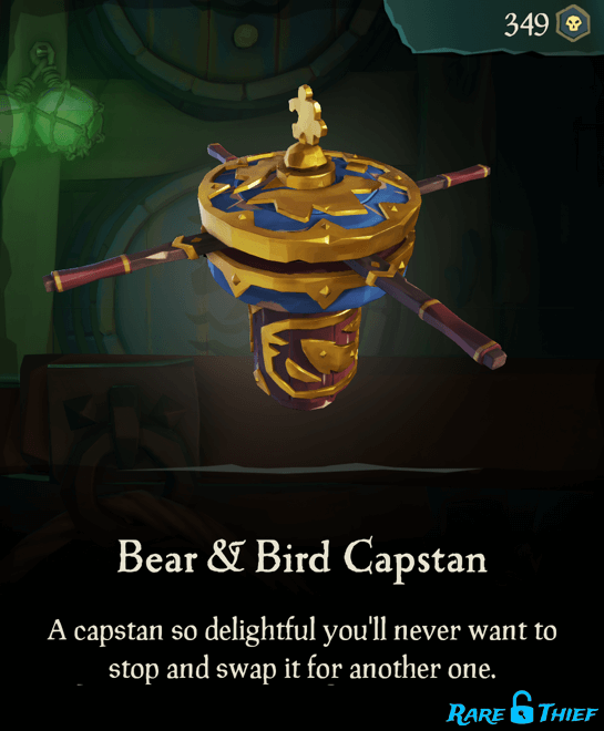 Bear & Bird Capstan