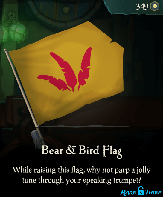 Bear & Bird Flag