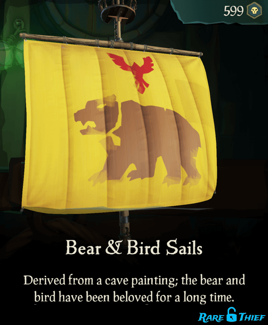 Bear & Bird Sails