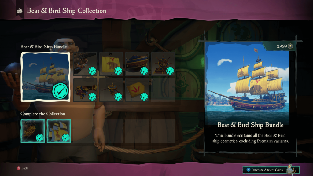 Bear & Bird Ship Bundle