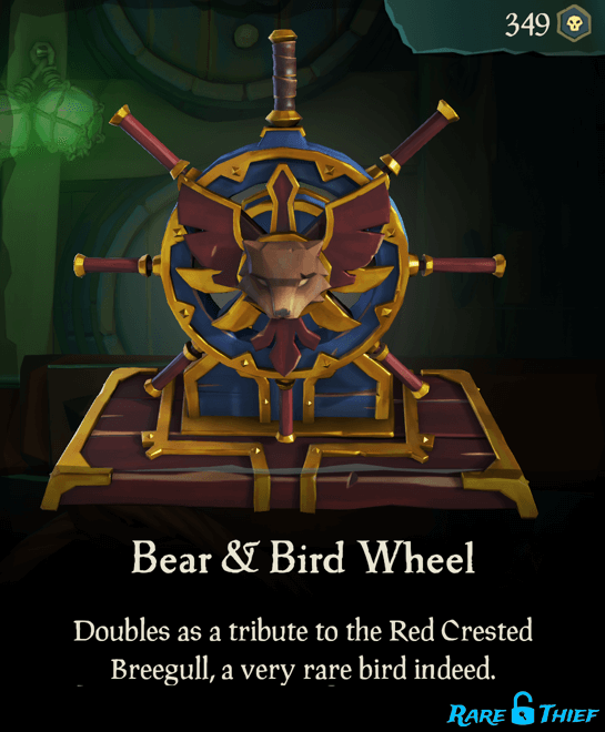 Bear & Bird Wheel