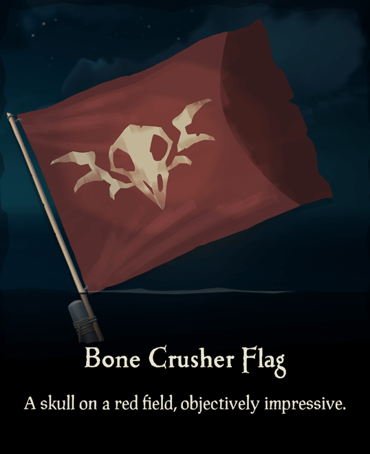 Bone Crusher Flag