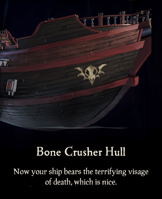 Bone Crusher Hull