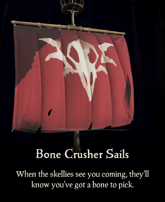 Bone Crusher Sails