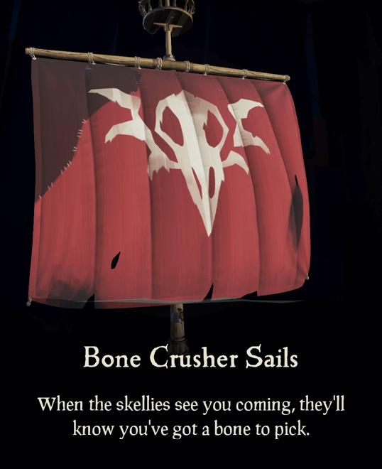 Bone Crusher Sails