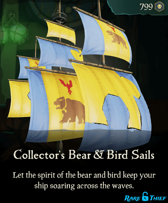 Collector's Bear & Bird Sails