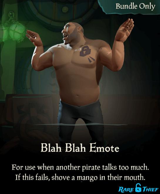 Blah Blah Emote