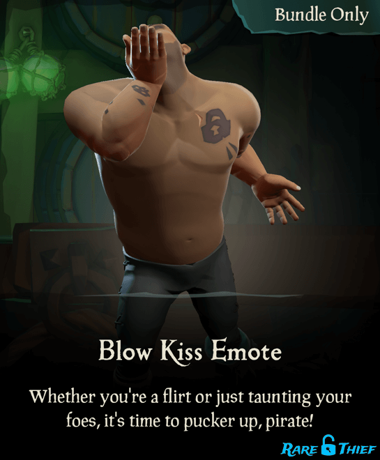 Blow Kiss Emote