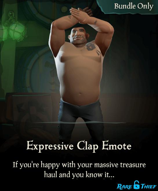 Expressive Clap Emote