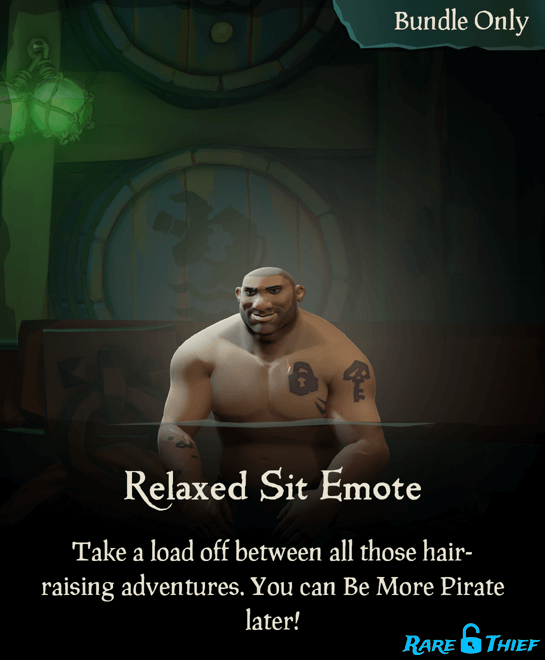 Relaxed Sit Emote