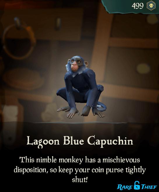 Lagoon Blue Capuchin