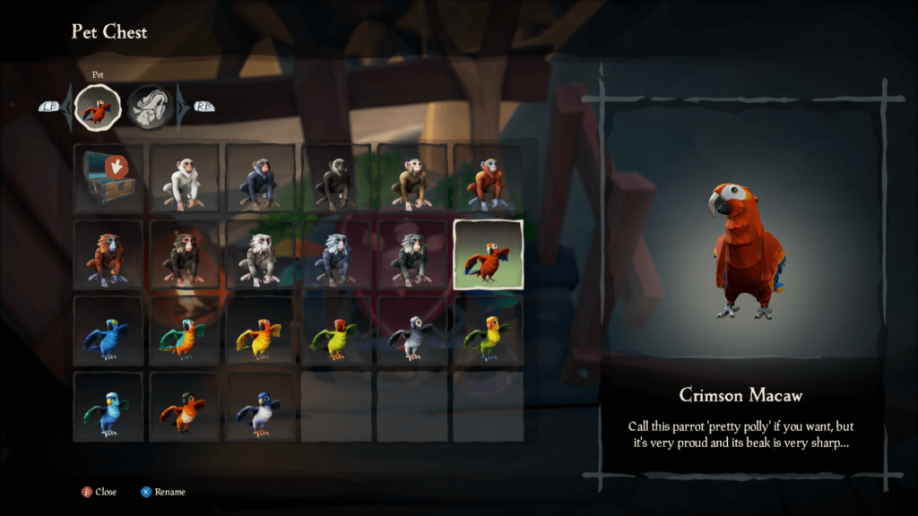 Sea Of Thieves Pets All You Need To Know Rare Thief
