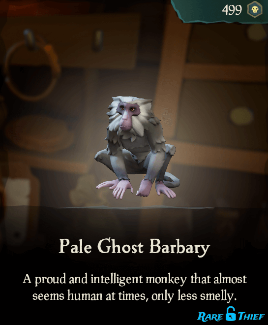 Pale Ghost Barbary