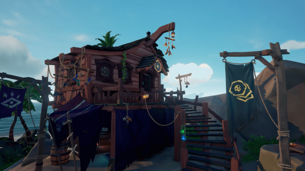 Sea of Thieves Pirate Emporium Building
