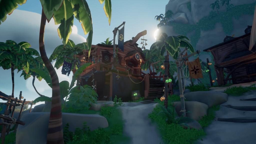 Sea of Thieves Pirate Emporium Building