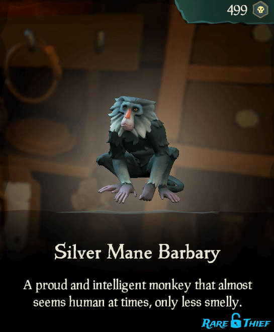 Silver Mane Barbary