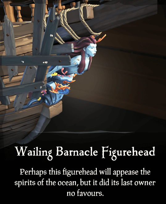 Wailing Barnacle Figurehead