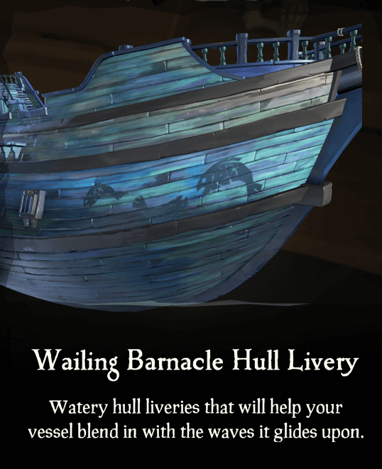 Wailing Barnacle Hull