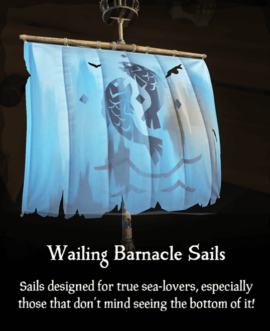 Wailing Barnacle Sails