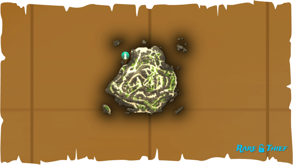 Rare Thief Map, Fate of the Morningstar, Dinger's Chest Location on Old Faithful