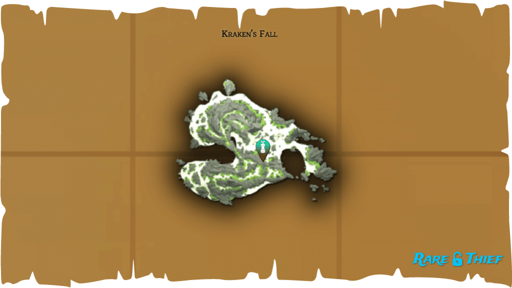 Rare Thief Map, Fate of the Morningstar, Dinger's Key Location on Kraken's Fall