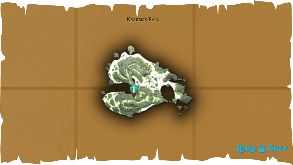 Rare Thief Map, Fate of the Morningstar, Fontaine's Key Location on Kraken's Fall