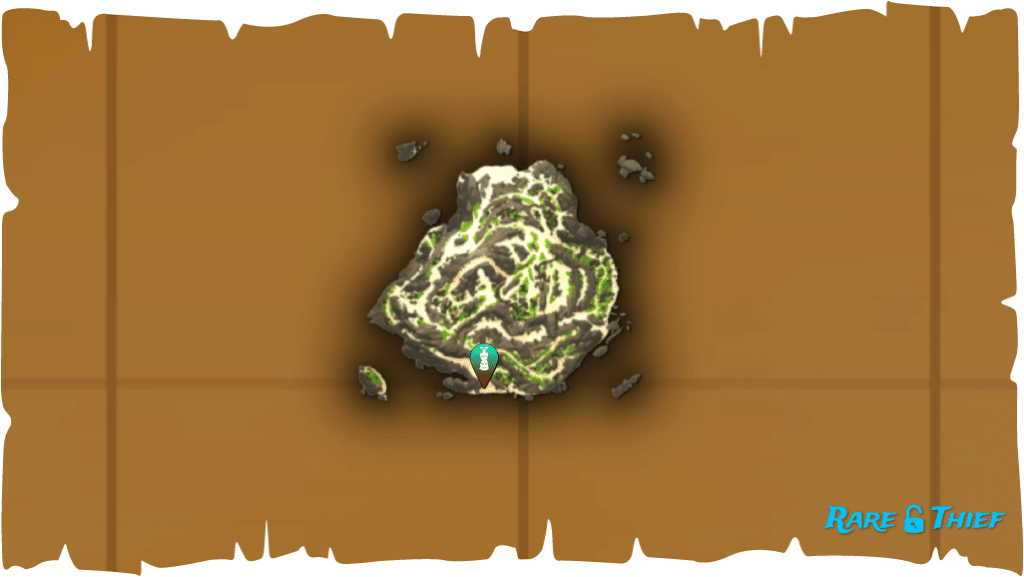 Rare Thief Map, Fate of the Morningstar, Starting Location on Old Faithful