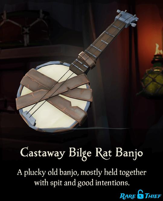 Castaway Bilge Rat Banjo