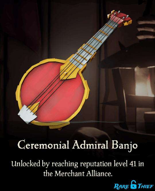 Ceremonial Admiral Banjo
