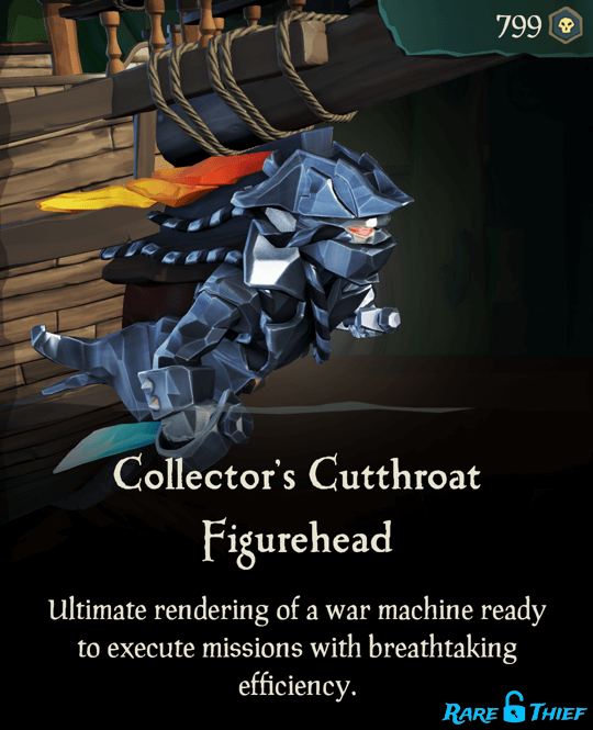 Collector's Cutthroat Figurehead
