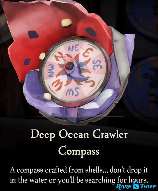 Deep Ocean Crawler Compass