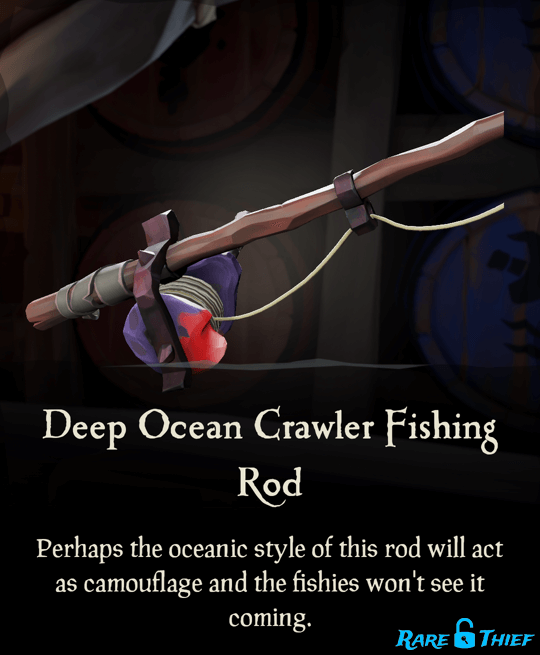Deep Ocean Crawler Fishing Rod