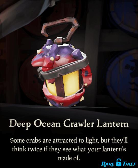 Deep Ocean Crawler Lantern