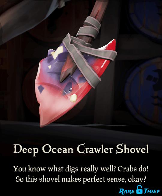 Deep Ocean Crawler Shovel