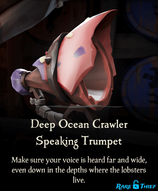 Deep Ocean Crawler Speaking Trumpet