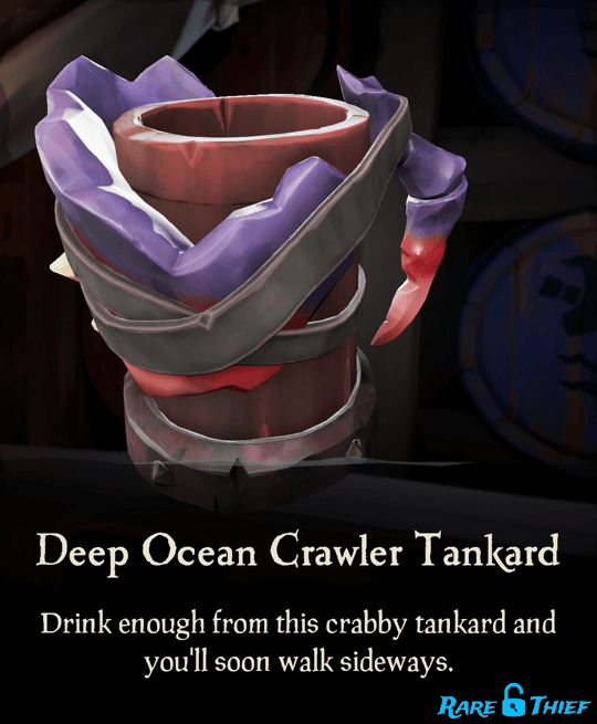 Deep Ocean Crawler Tankard