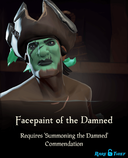 Facepaint of the Damned