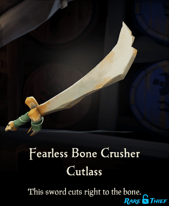 Fearless Bone Crusher Cutlass
