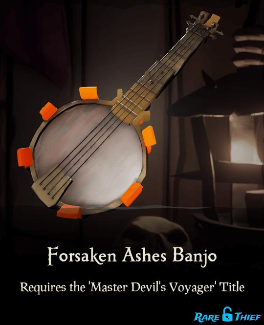 Forsaken Ashes Banjo